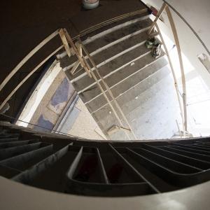 Widok schodów.