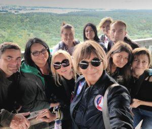 Uczestnicy letnich fotospacerów