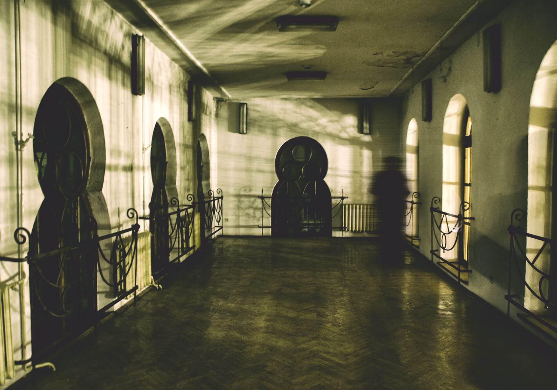 Zdjęcie wnętrza synagogi wykonane przez Dorotę Ostrą.