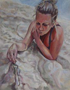 Ewa Gaj Na plaży