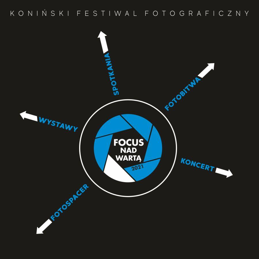 Grafika festiwalu Fokus Nad Wartą