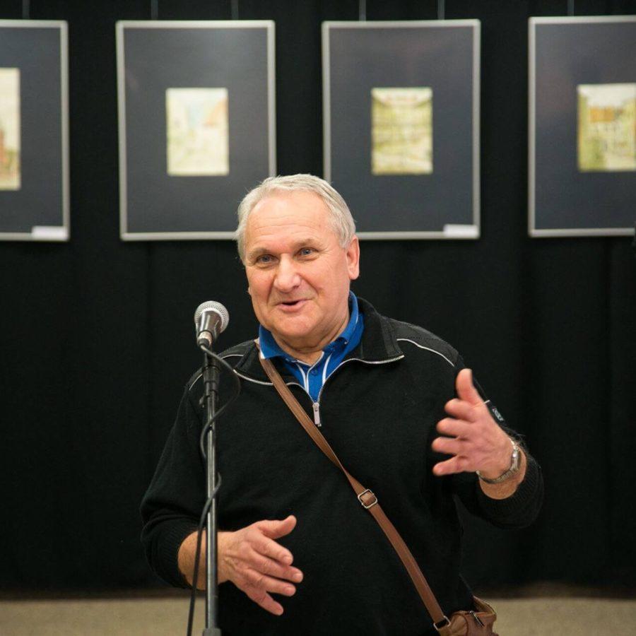 Na zdjęciu Kazimierz Białkowski