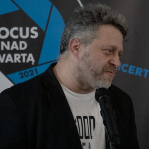 Na zdjęciu Marek Lapis