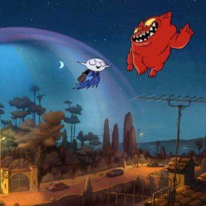 Kadr z filmu Mój przyjaciel wampir