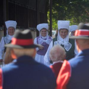 Uczestnicy festiwalu W stronę Tradycji