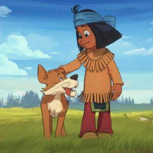 Kadr z filmu Yakari i wielka podróż