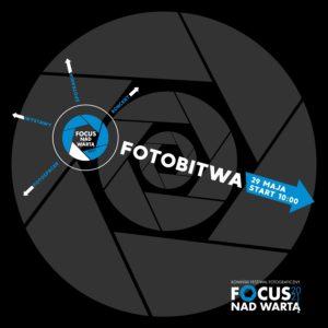 Graficzne przedstawienie przysłony w aparacie fotograficznym - logo imprezy