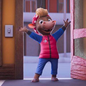 Kadr z filmu Gwiazdka Klary Muu