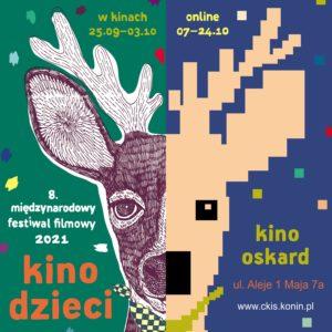 Grafika Międzynarodowego Festiwalu Filmowego Kino Dziec