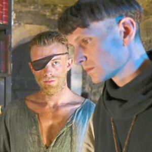 Kadr z filmu Narcyz i Złotousty