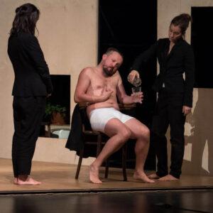 Scena ze spektaklu Schulz: Petla
