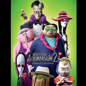 Plakat do filmu Rodzina Adamsów 2