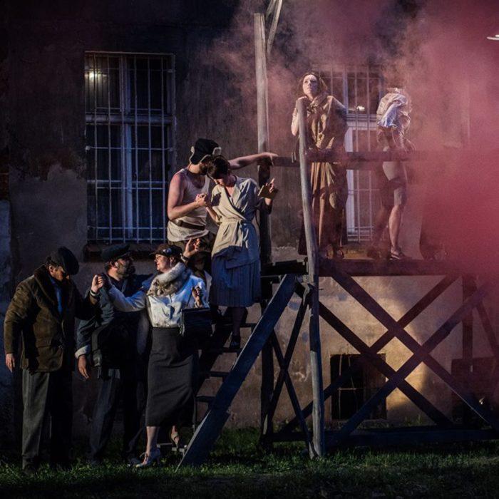 Scena ze spektaklu Skarb wdowy